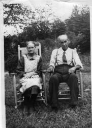 Robert Patterson Bradley and Lydia (Blankenship) Bradley